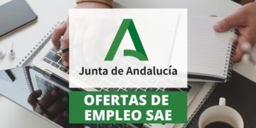 Ofertas de empleo publico SAE Junta de Andalucía discapacidad