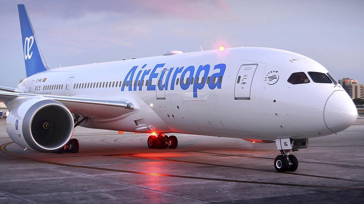Ofertas de vuelos en Air Europa