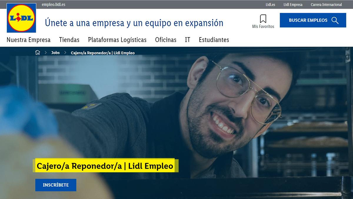 portal de empleo Lidl