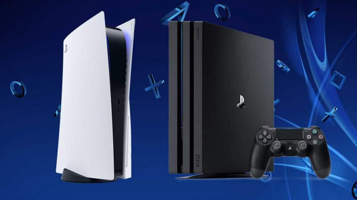 PS4 y PS5