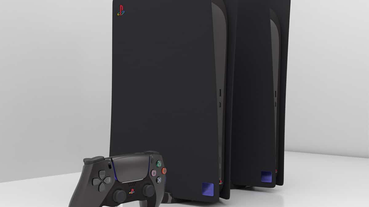 PS5 negra