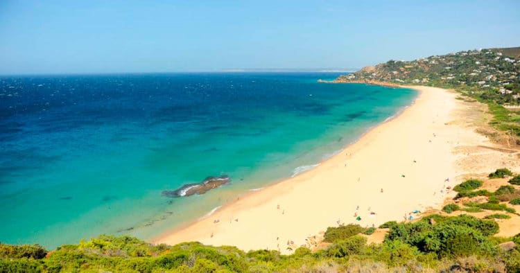 Playa de los Alemanes (Cádiz) turismo en Andalucía