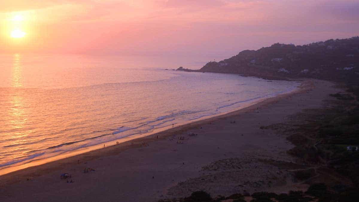 Turismo en Andalucía | Playa de los alemanes