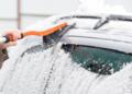 Retirar nieve coches