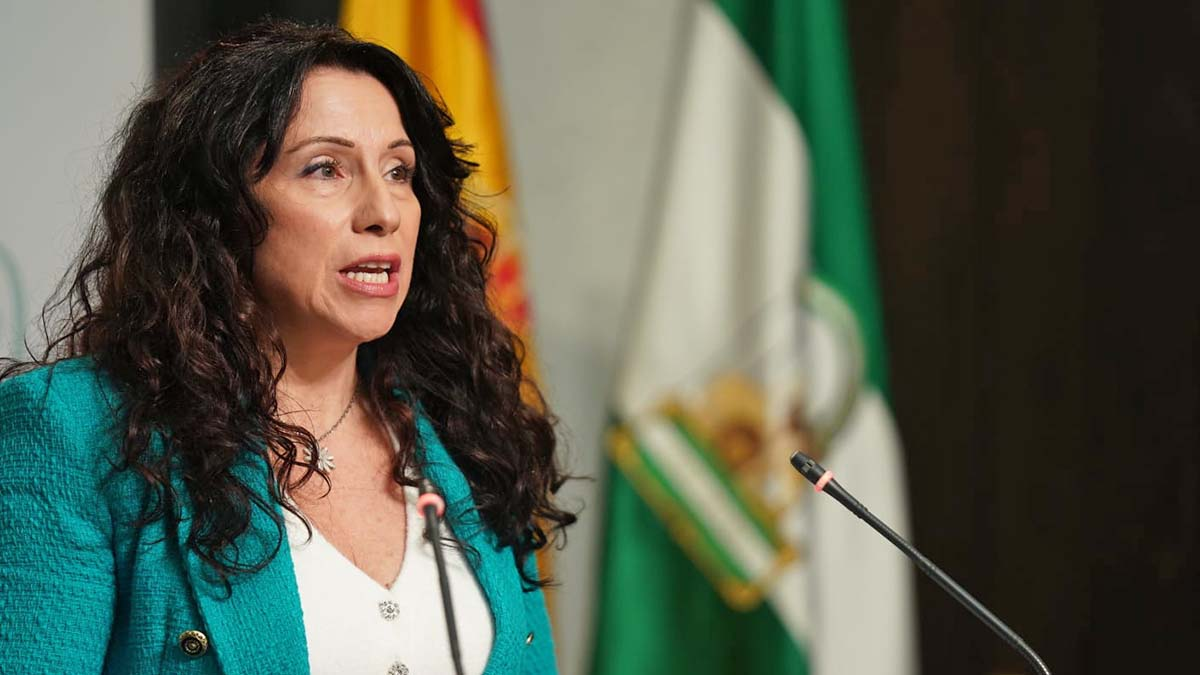 Rocío Ruiz, consejera de Igualdad de la Junta de Andalucí
