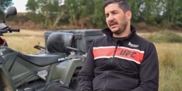 Rodrigo García accidente silla de rueda