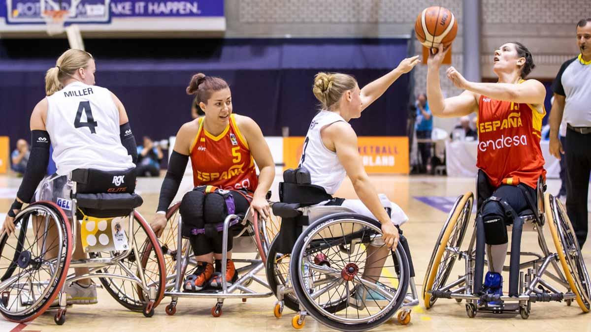 Selección Española Femenina de Baloncesto en los Juegos Paralímpicos