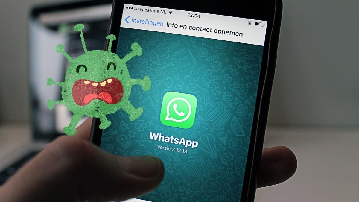 Virus en Whatsapp Google Play