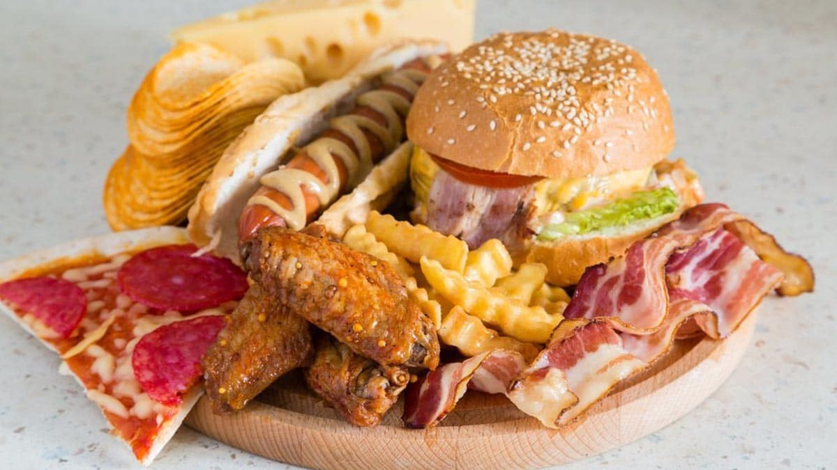 Alimentos grasas triglicéridos