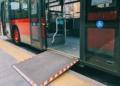 autobus bus accesible accesibilidad rampa