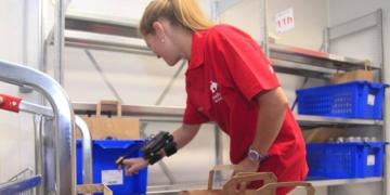Trabajadora de Carrefour empleo