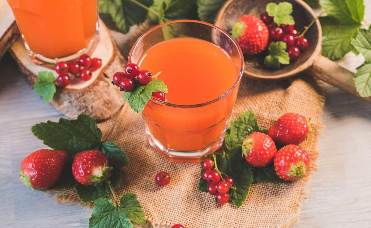 un jugo libre de azúcar sustituye a las bebidas carbonatadas