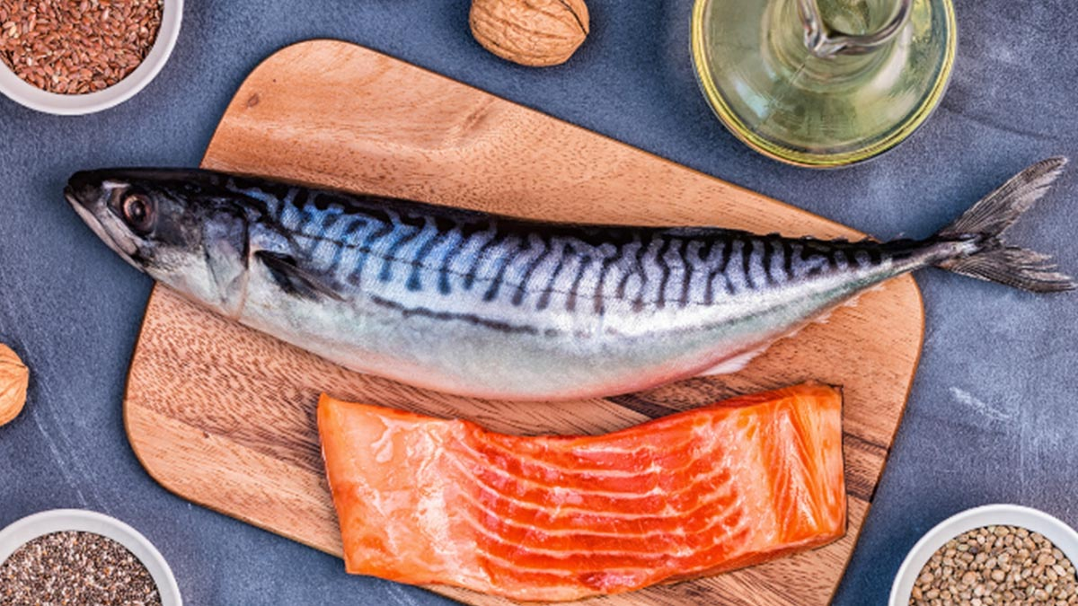 Pescado rico en omega-3 para bajar los triglicéridos
