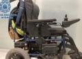 Silla de ruedas que fue robada en Granada