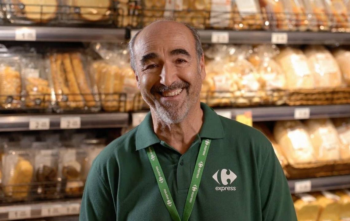 Trabajador Carrefour Express