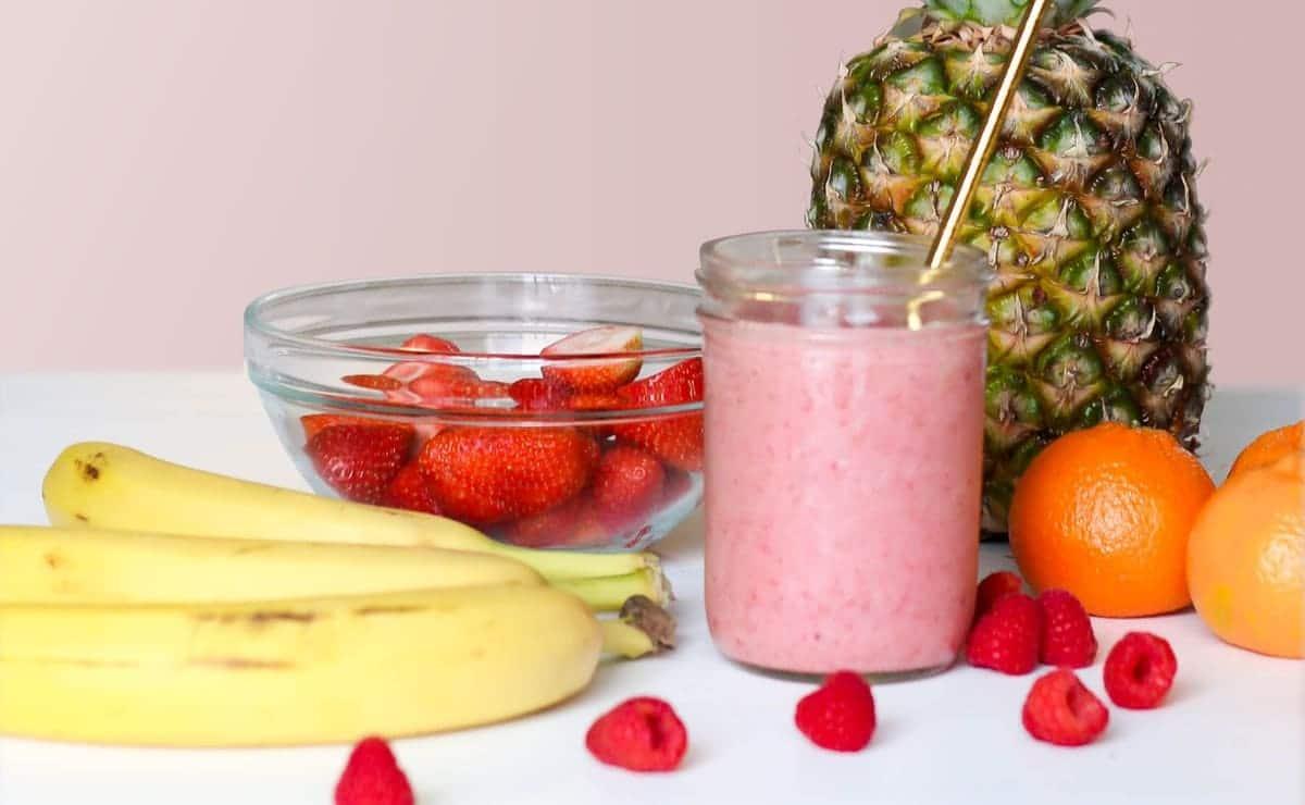 zumo de frutas y jugo de frutas
