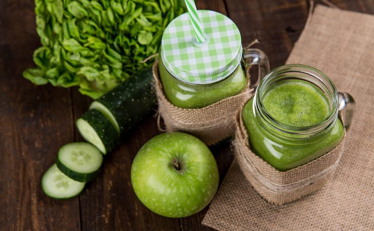 jugo verde para diabéticos