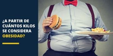 ¿A partir de cuántos kilos se considera obesidad?