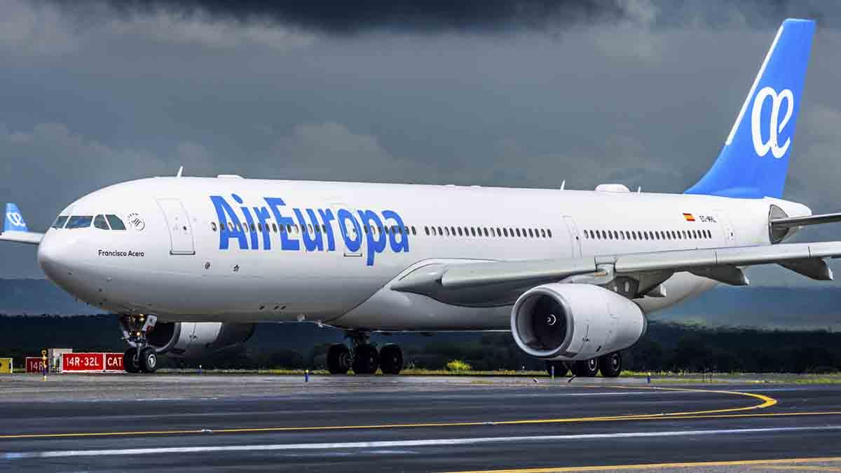 Vuelos con Air Europa