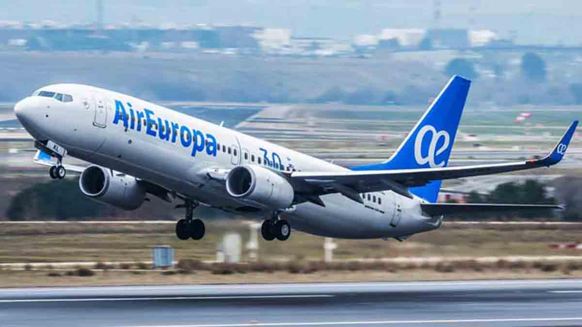 Un vuelo de Air Europa