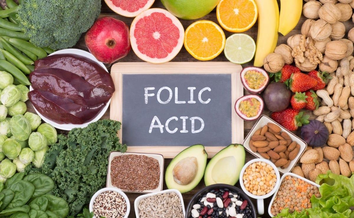 Alimentos con vitamina B9 Acido Folico