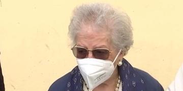 Ana María ha recibido la vacuna contra el Covid-19 a sus 107 años