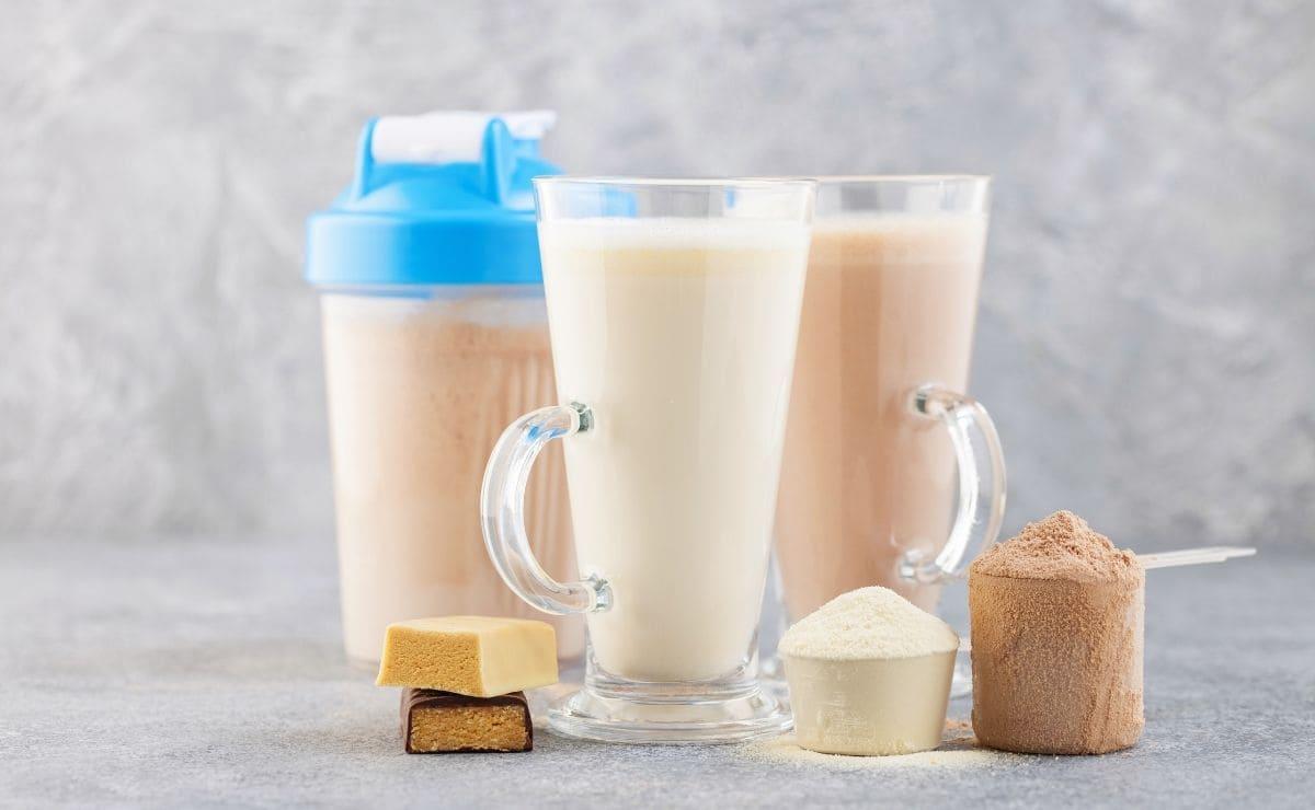 Batidos de proteínas ejercicios