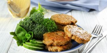 Buñuelos de brócoli ácido fólico