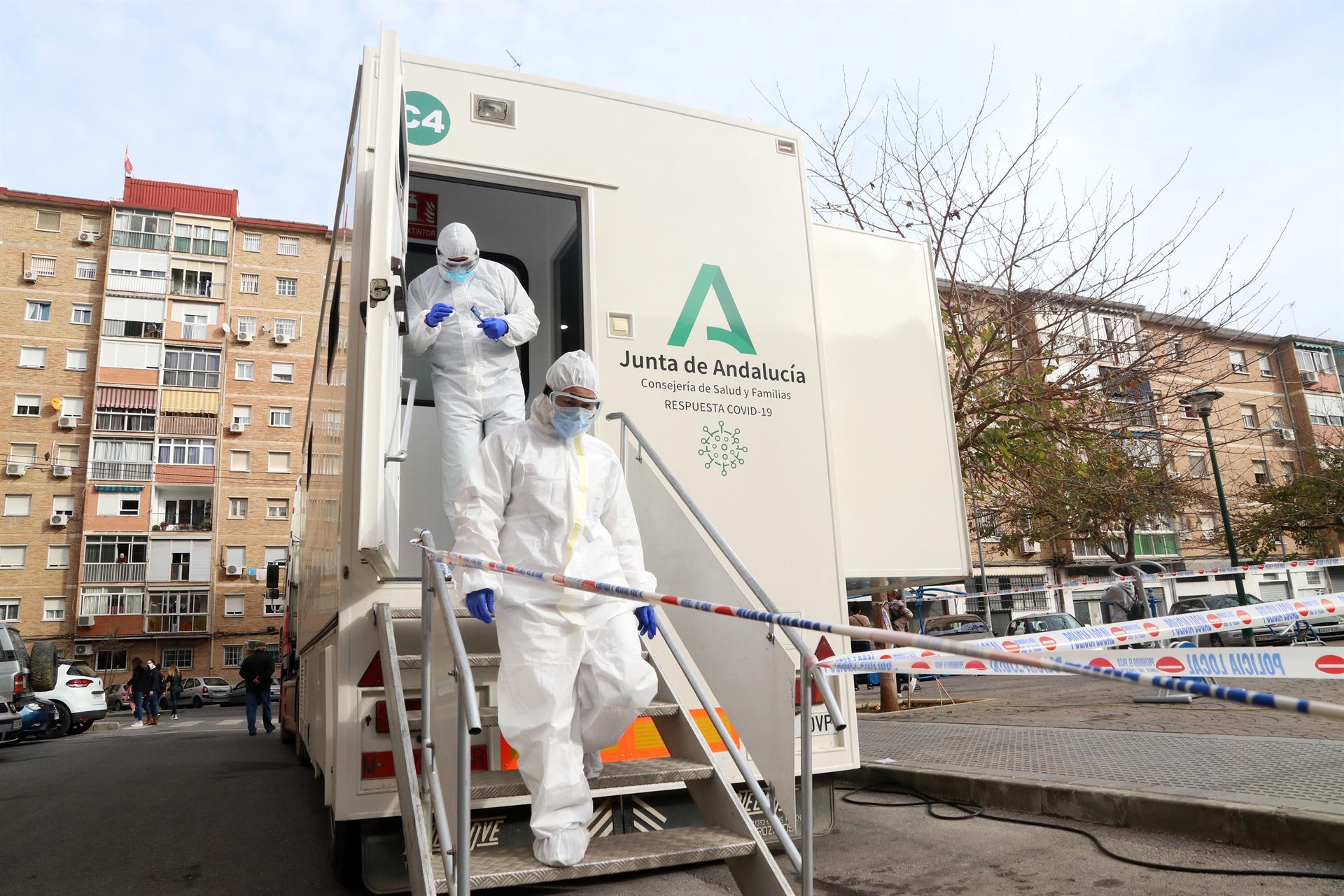 Casos coronavirus Andalucia