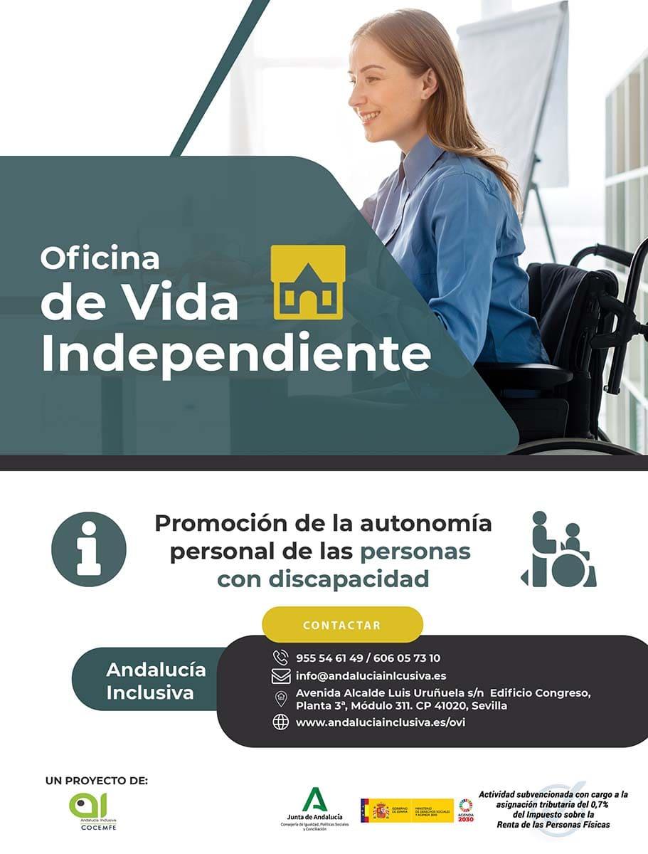 Catel oficina de vida independiente Andalucía Inclusiva para las personas con discapacidad