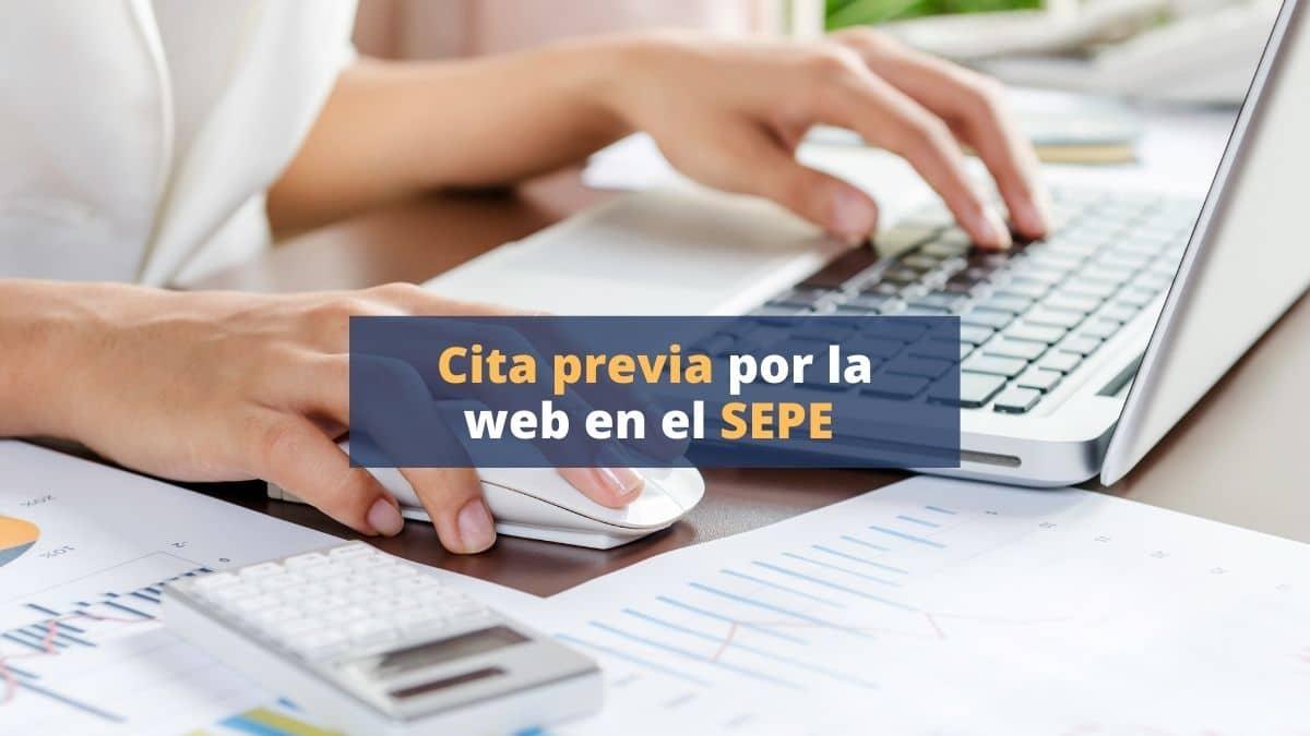 Cómo solicitar cita previa por la web en el SEPE