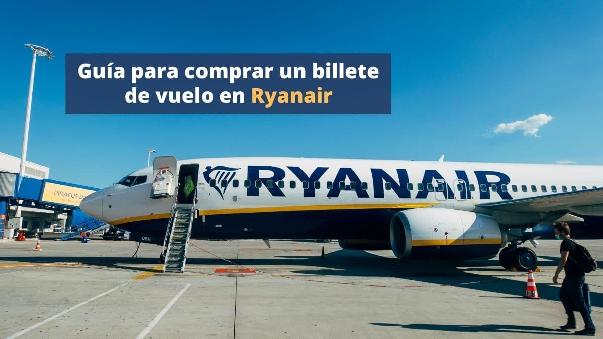 Comprar vuelos en Ryanair