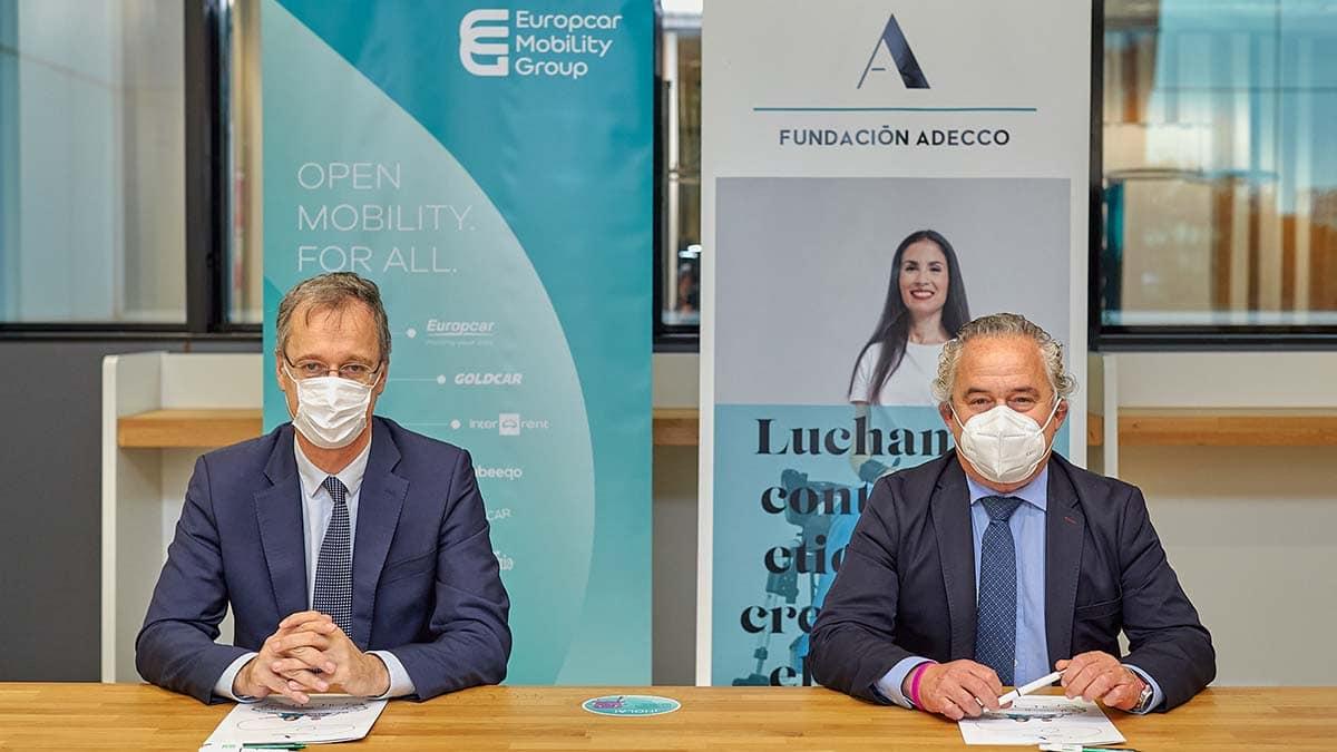 Europcar apuesta por el empleo de las personas con discapacidad gracias a Fundación Adecco