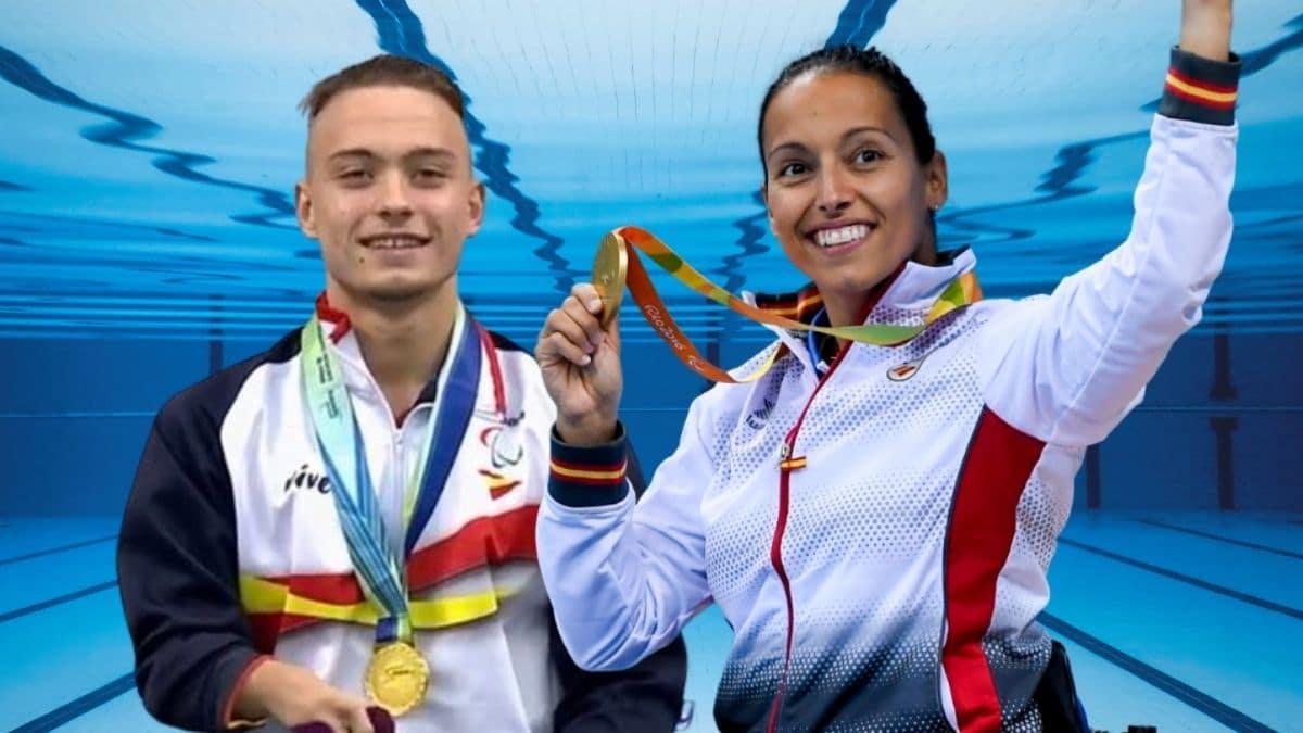 Teresa Perales e Iñigo Llopis | Juegos Paralímpicos