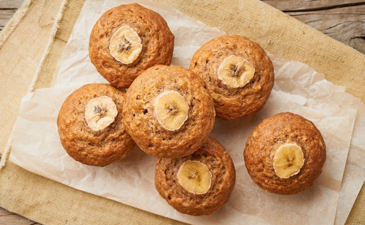 Muffin de platano