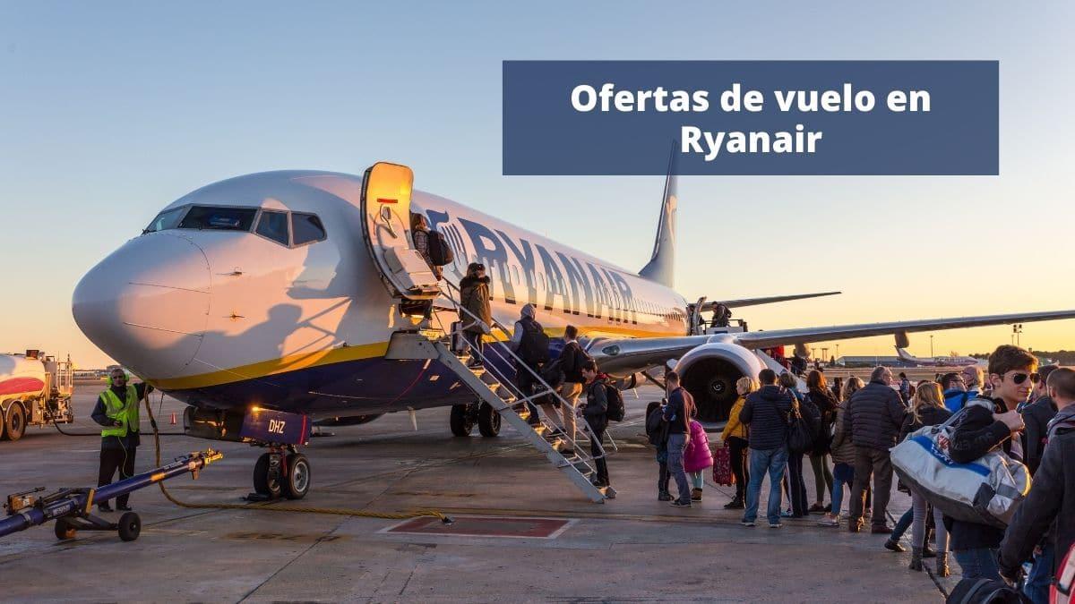 Ofertas de vuelo en Ryanair