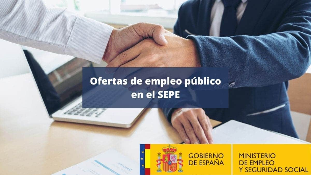 Ofertas empleo público SEPE