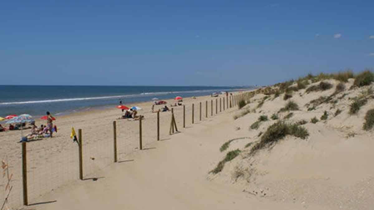 Playa de Nueva Umbría (Huelva)