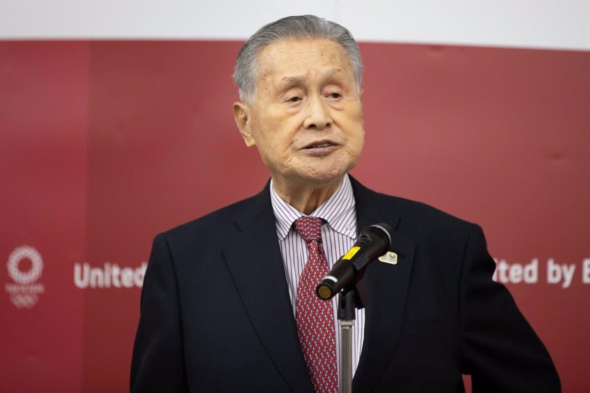 Yoshiro Mori Juegos Paralímpicos