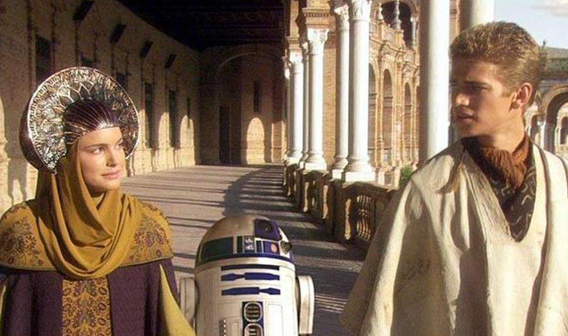 Star Wars en la Plaza de España (Sevilla)