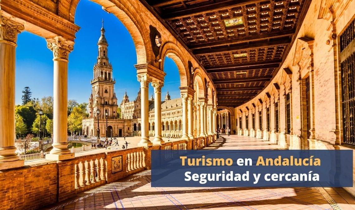 Turismo en Andalucía   Plaza de España