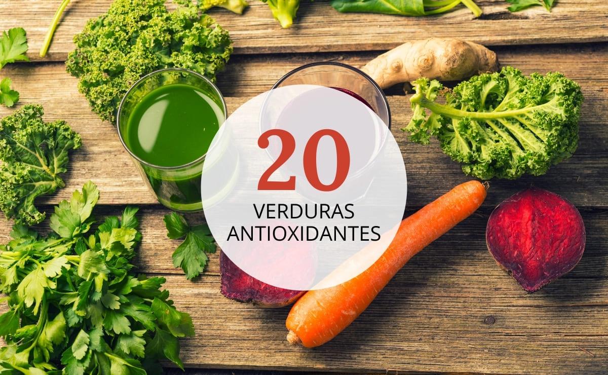 Verduras antioxidantes