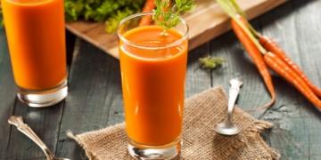 Jugo zanahoria antioxidante covid-19
