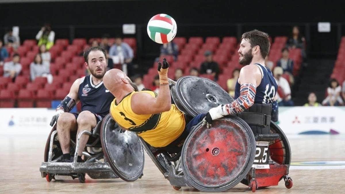 rugby en silla de ruedas
