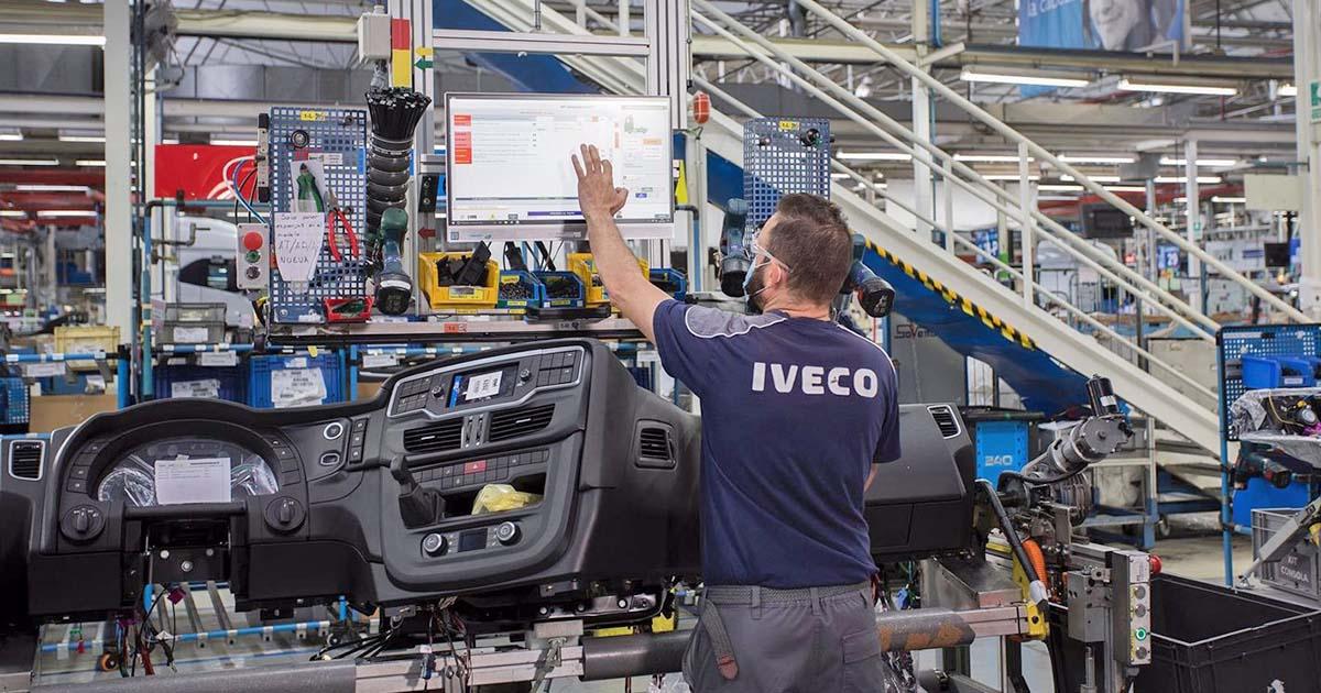 Trabajador con discapacidad Iveco