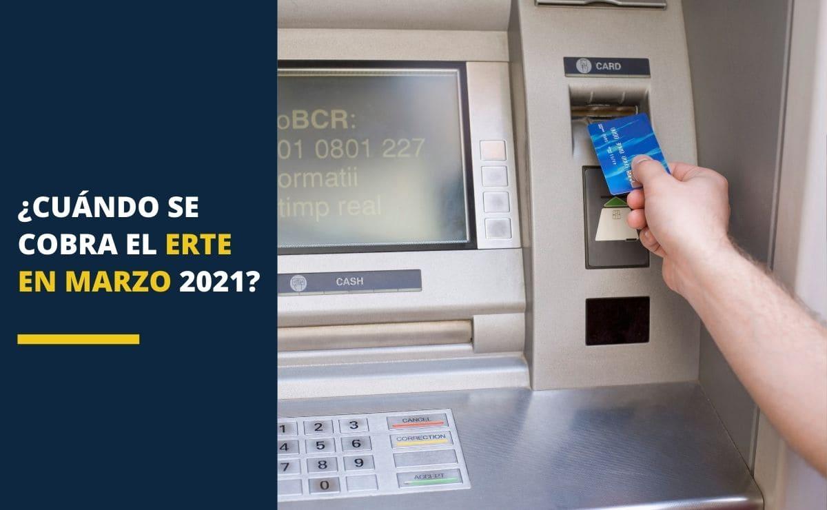 ¿Cuándo se cobra el ERTE en marzo 2021?