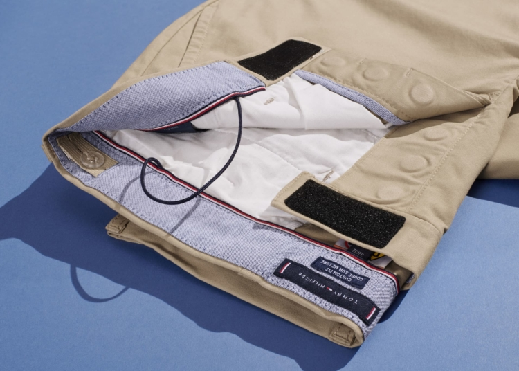Velcro pantalón