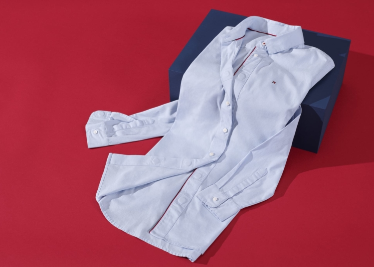 camisa con botones magnéticos