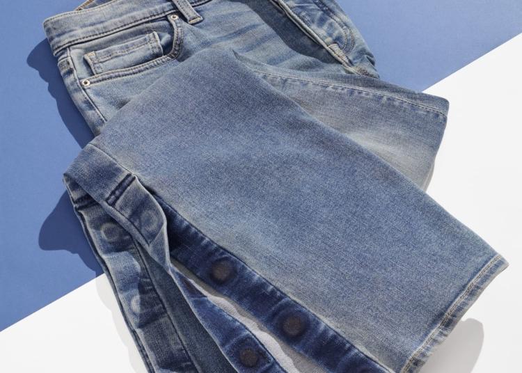 pantalon con bajos magnéticos