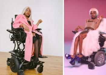 Aaron Philip modelo transexual con discapacidad